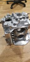 Polished aluminum case