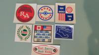 Road America decals