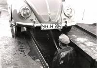 Beetle and hosing the front end