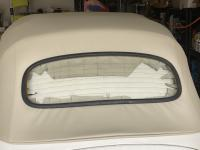 79 convertible rear window frame.