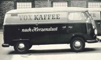 VOX KAFFEE '65 sliding door panelvan