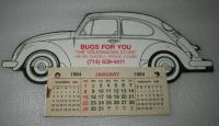 Bugs For You - 1984 Calendar