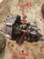 Damaged gears