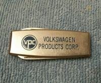 Volkswagen Products Corp knife