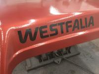 Painting Westfalia roof