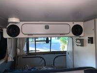 """5 1/4"""" speakers w/backing in AC cabinet"""