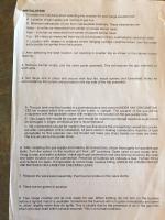 Westfalia Stove Manual