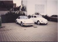 1963 Ragtop and 1976 911