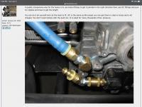 Full flow hose/fittings