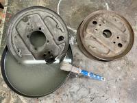 brake back plates