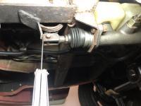 Master cylinder bus pushrod adjustment