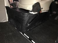 Late Bay seat stand mats