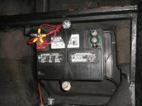 Battery post