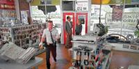 "Store with VW parts in ""Monk"" (2009)"