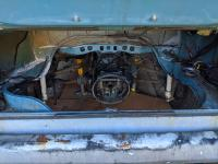 1972 panel van engine bay