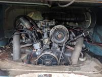 1972 panel van engine