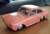 Bandai Notchback in Salmon