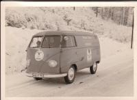 Early Barndoor panelvan
