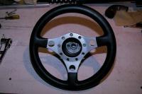 """Formuling 13"""" Steering Wheel"""