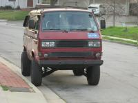 """1987 Syncro with aprox 5"""" lift with tires"""