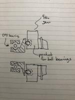 4th gear idea to eliminate welding.