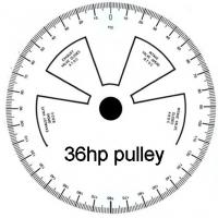 36hp sized degree wheel for print out
