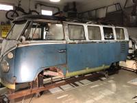 1966 21 window rocker repair