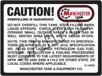 Propane Tank Sticker