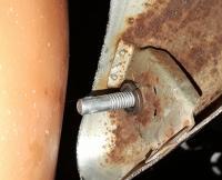 Bumper bolt hole solution