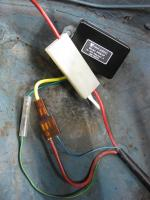 Mounting Clover Systems 6-Volt voltage Regulator to Replace Stock Bosch unit