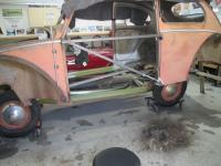 1954 Canadain custom quarter panel repair