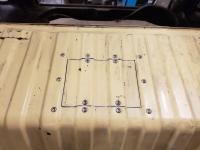 fuel sender access panel