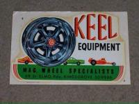 Keel wheels decal