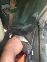 Karmann Ghia lower valence replacement