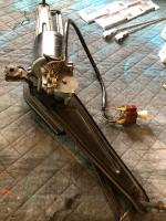 wiper motor and wiring