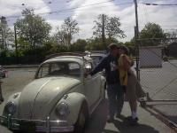 The Proud owners of a 1961 beetle