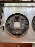 1954 Barndoor brake backing plates