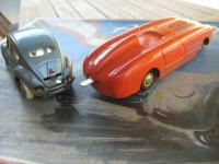 Dux VW Oval Tin Toy