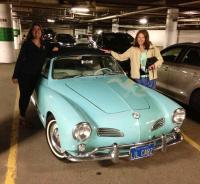 1963 Pacific blue Ghia in Canada
