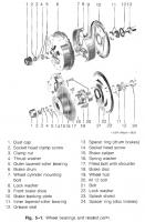 Bentley wheel bearing