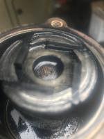 Galled vacuum pump from phoenix