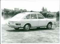 VW 411 Press Photo