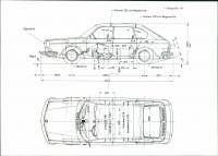 vw 411 Factory dimensions