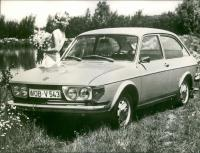 VW 412 Press Photo