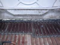 Cargo floor reperations, on Mandy