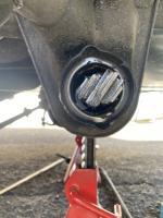 Front torsion leaf alignment jig