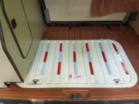 Deck lid safety tape