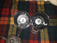 411 speedometer, clock/ multi gauge