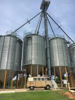 Out at the silos.
