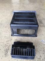 Under bench heater shroud